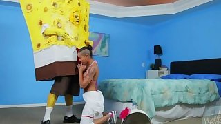 SpongeKnob SquareNuts Blowjob - The SpongeBob SquarePants XXX Parody